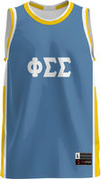 Phi Sigma Sigma Unisex Replica Basketball Jersey Modern (Online Only)