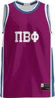 Pi Beta Phi Unisex Replica Basketball Jersey Modern (Online Only)