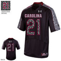 University of South Carolina Wounded Warrior Football Jersey by Under Armour, 100% Nylon