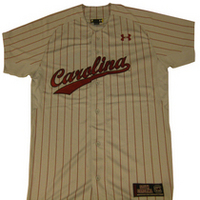 Under Armour Carolina Pin Stripe Baseball Jersey