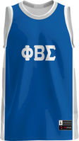 Phi Beta Sigma Unisex Replica Basketball Jersey Modern (Online Only)