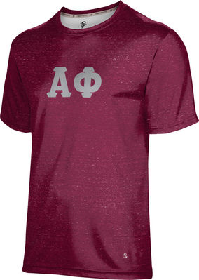 Alpha Phi Unisex Short Sleeve Tee Heather
