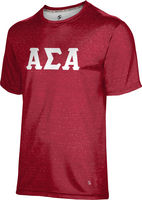 Alpha Sigma Alpha Unisex Short Sleeve Tee Heather
