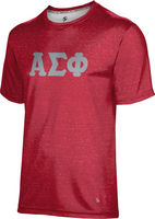 Alpha Sigma Phi Unisex Short Sleeve Tee Heather