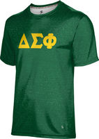 Delta Sigma Phi Unisex Short Sleeve Tee Heather
