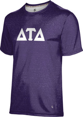Delta Tau Delta Unisex Short Sleeve Tee Heather