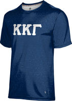 Kappa Kappa Gamma Unisex Short Sleeve Tee Heather