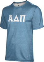 Alpha Delta Pi Unisex Short Sleeve Tee Heather