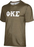 Phi Kappa Sigma Unisex Short Sleeve Tee Heather