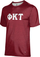 Phi Kappa Tau Unisex Short Sleeve Tee Heather