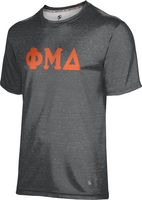Phi Mu Delta Unisex Short Sleeve Tee Heather