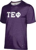 Tau Epsilon Phi Unisex Short Sleeve Tee Heather