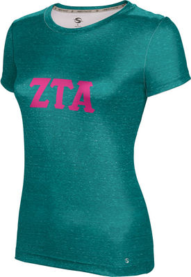 Zeta Tau Alpha Womens Short Sleeve Tee Prime