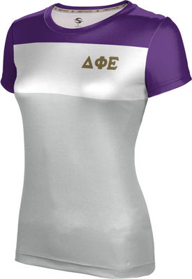 Delta Phi Epsilon Womens Short Sleeve Tee Heather