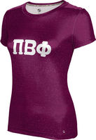 Pi Beta Phi Womens Short Sleeve Tee Heather