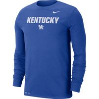 Nike College Dri Fit MenS Long Sleeve T Shirt