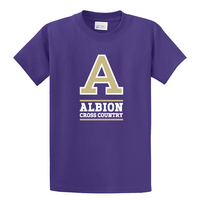 Albion College Cross Country Short Sleeve Tee