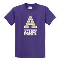 Albion College Football Short Sleeve Tee