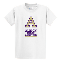 Albion College Track & Field Short Sleeve Tee