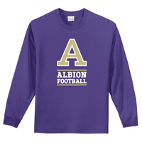 Albion College Football Long Sleeve Tee