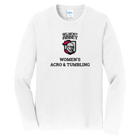 Womens Acro & Tumbling Long Sleeve Tee (Online Only)
