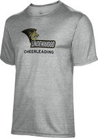 Cheerleading Spectrum Short Sleeve Tee (Standard Shipping Only. Store Pick Up Not Available)