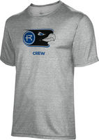 Spectrum Crew Unisex 5050 Distressed Short Sleeve Tee