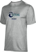 Spectrum Rugby Unisex 5050 Distressed Short Sleeve Tee
