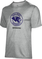 Spectrum Swimming Unisex 5050 Distressed Short Sleeve Tee