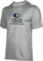 Spectrum Womens Golf Unisex 5050 Distressed Short Sleeve Tee