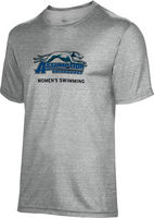 Spectrum Womens Swimming Unisex 5050 Distressed Short Sleeve Tee