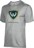 Spectrum Womens Track & Field Unisex 5050 Distressed Short Sleeve Tee
