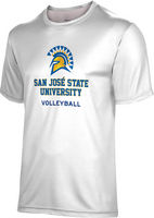Spectrum Volleyball Unisex 5050 Distressed Short Sleeve Tee