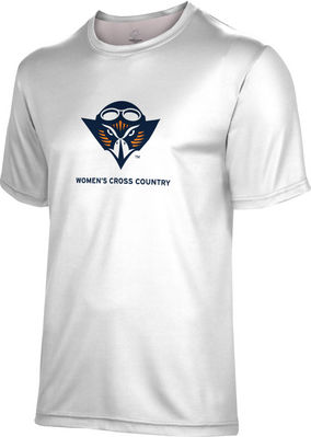 Spectrum Womens Cross Country Unisex 5050 Distressed Short Sleeve Tee