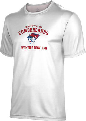 Spectrum Womens Bowling Unisex 5050 Distressed Short Sleeve Tee