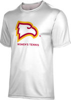 Spectrum Womens Tennis Unisex 5050 Distressed Short Sleeve Tee