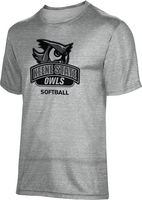ProSphere Softball Unisex TriBlend Distressed Tee