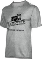 ProSphere Womens Swimming Unisex TriBlend Distressed Tee