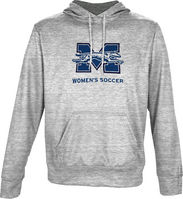 Spectrum Womens Soccer Unisex Distressed Pullover Hoodie