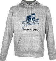 Spectrum Womens Tennis Unisex Distressed Pullover Hoodie
