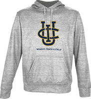 Spectrum Womens Track & Field Unisex Distressed Pullover Hoodie