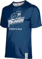 ProSphere Womens Golf Unisex Short Sleeve Tee