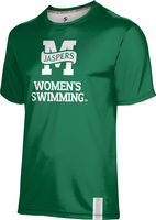 ProSphere Womens Swimming Unisex Short Sleeve Tee