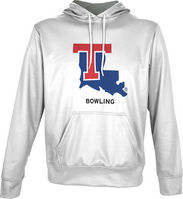 Spectrum Bowling Unisex Distressed Pullover Hoodie