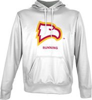 Spectrum Running Unisex Distressed Pullover Hoodie