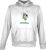 Spectrum Spikeball Unisex Distressed Pullover Hoodie