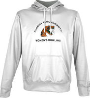Spectrum Womens Bowling Unisex Distressed Pullover Hoodie