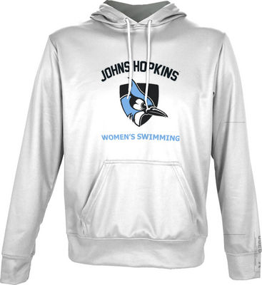 Womens Swimming Spectrum Pullover Hoodie
