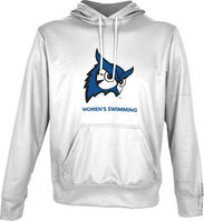 Spectrum Womens Swimming Unisex Distressed Pullover Hoodie