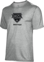 Spectrum Brother Unisex 5050 Distressed Short Sleeve Tee